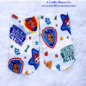 Paw Patrol Sublimation Socks White