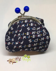 Friends Large Pouch Handmade by MGEDesigns