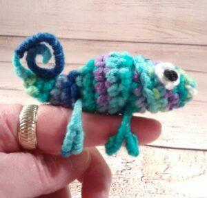 Chameleon Finger Pet Ocean-Blue