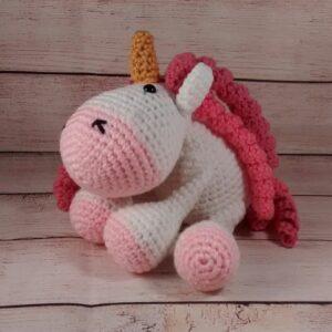 Plush Pink Unicorn Toy