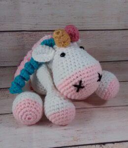 Plush Rainbow Unicorn Toy