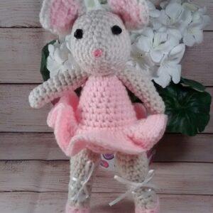Light-Pink Ballerina Mouse