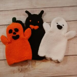 Halloween Hand Puppet Set