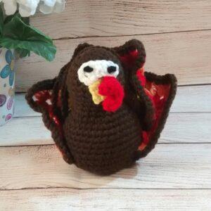 Crochet Mini Plush Turkey