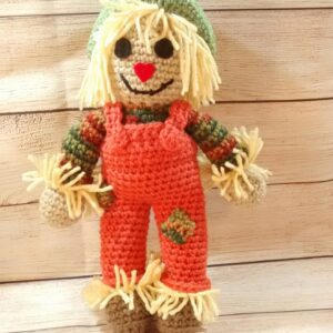 Fall Scarecrow Plush Decoration