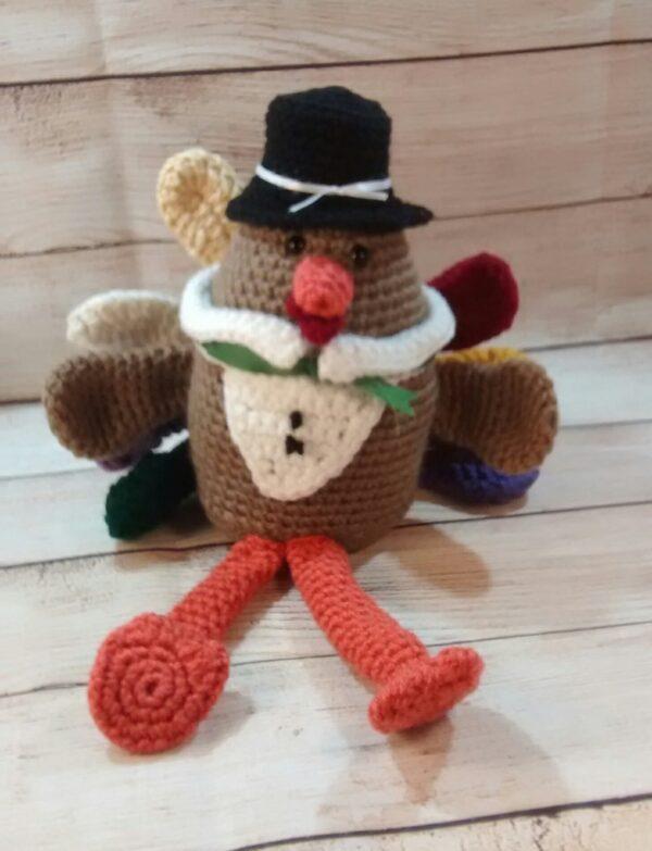 Plush Turkey Fall Decoration