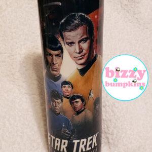 Star Trek 20 oz Stainless Steel Hand Crafted Tumbler