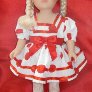 18 inch handmade doll dres
