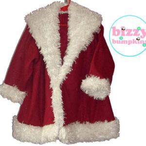 Girl's Santa Coat