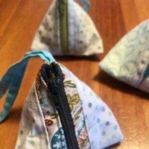 Pouches (tiny triangular set) Created by Scrapper's Snips and Stitches, Stock That Sock! Sale