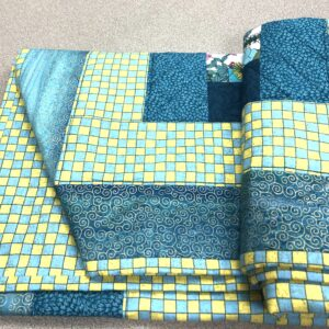 Lap Quilt/ Scrappy Quilt created by Scrapper's Snips and Stitches, Stock that Sock! sale