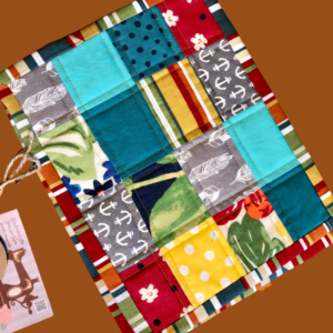 Table Linens (Snack Mats) created by Scrapper's Snips and Stitches quilted patchwork Stock That Sock! Sale