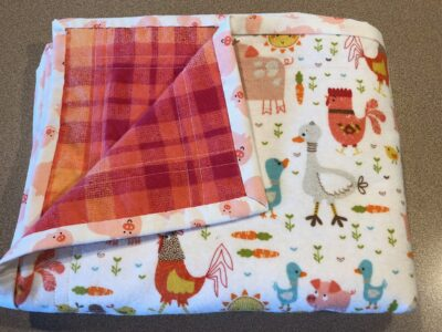Baby Blankets (receiving blanket ) created by Scrapper's Snips and Stitches, Stock That Sock! Sale