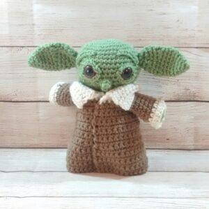 Yoda Crochet Baby Figure