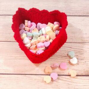 Heart Shape Candy Dish