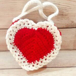 Red Heart Valentine Purse