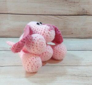 Pink Puppy Pet Toy