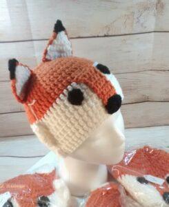 Fox Winter Child's Hat
