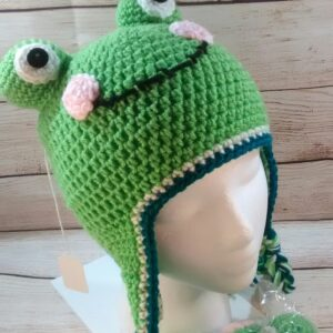 Froggy Winter Child's Hat
