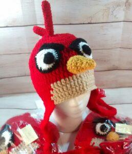 Red Bird Child's Hat