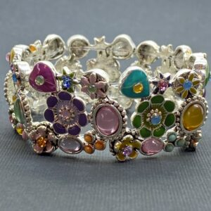 Multi-Colored Spring Stretch Bracelet