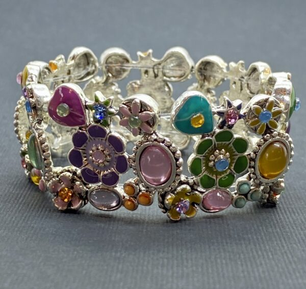 Multi-Colored Spring Stretch Bracelet