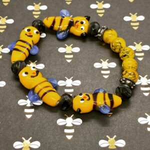 Bumble Bee Stretch Bracelet