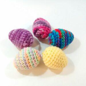 Crochet Assorted Egg Set