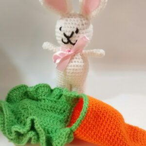Mini Bunny Carrot Bed