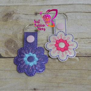 flower keyfob