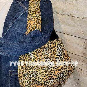 cheetah Shoulder Tote Bag