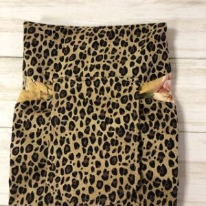 Leopard Print Makeup Bagcreated by Scrapper's Snips and Stitches