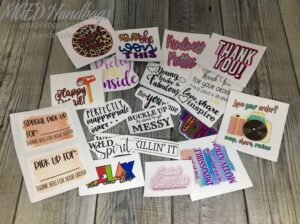 Oops! Sticker Grab Bag of 23 Mothers Day Sale Handmade by MGED Handbags