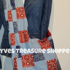 Patchwork Sling Tote
