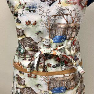 The Good Life apron