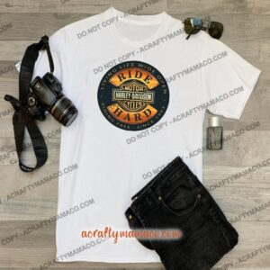 Harley Davidson Ride Hard Tee