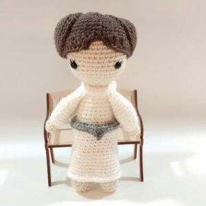Leia Crochet Novelty Doll