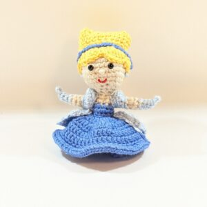 Crochet Mini Cinderella Doll