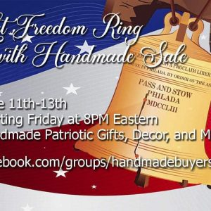 Let Freedom Ring with Handmade Sale