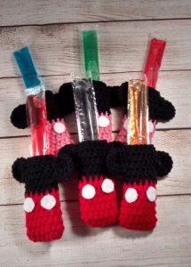 Mini & Mickey Ice Pop Cover-Set