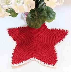 Patriotic Star Table Mat