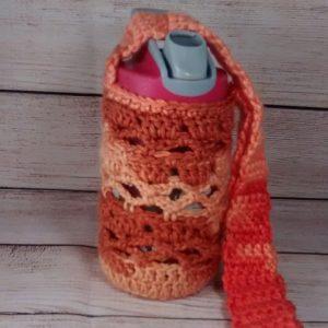 Child's Rusty-Orange Bottle Cozy