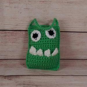 Green-Monster Tooth-Fairy Pillow