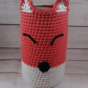 Fox Pencil Jar Cover