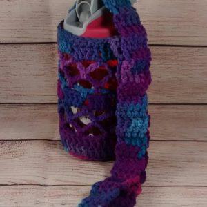 Child's Blue-Purple Bottle Cozy