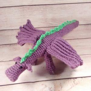 Purple Dragon Plush Toy