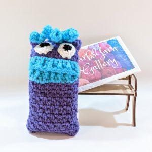 Purple Monster Pocket Tissue-Cover
