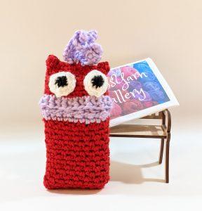 Red Monster Pocket Tissue-Cover