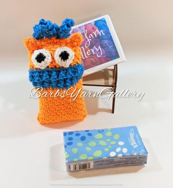 Orange Monster Pocket Tissue-Cover