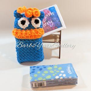 Blue Monster Pocket Tissue-Cover